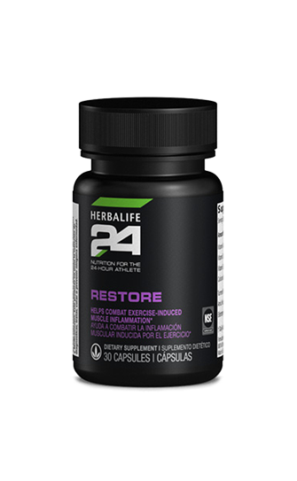 Restore Herbalife24 helps combat exercise induced muscle inflammation
